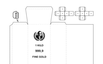 FakeGold Papercut
